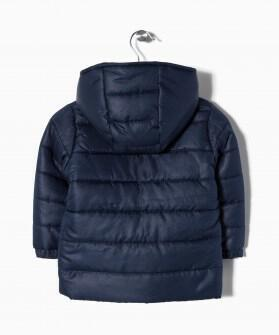 ZY βρεφικό μπουφάν με επένδυση fleece Image 1