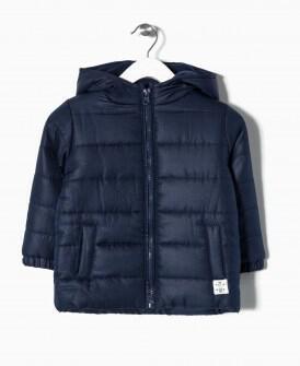 ZY βρεφικό μπουφάν με επένδυση fleece Image 0